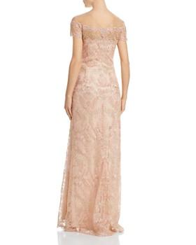 7a7c9ea346e ... Tadashi Shoji - Illusion Off-The-Shoulder Lace Gown