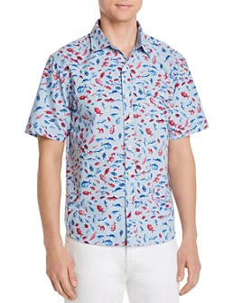 Tommy Bahama - Pesca Fiesta Short-Sleeve Classic Fit Camp Shirt