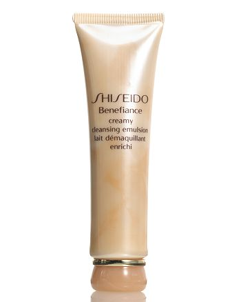 Shiseido - Deluxe Sample Benefiance Cleansing Emulsion with any $50 Shiseido purchase