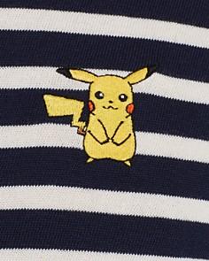 Maison Labiche - x Pokémon Pikachu Long-Sleeve Striped Tee