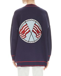 Sandro - Gilberta Back-Patch Cardigan