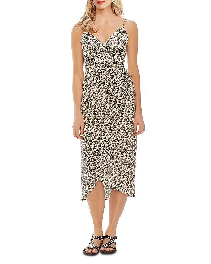 VINCE CAMUTO - Paisley Cami Wrap Dress