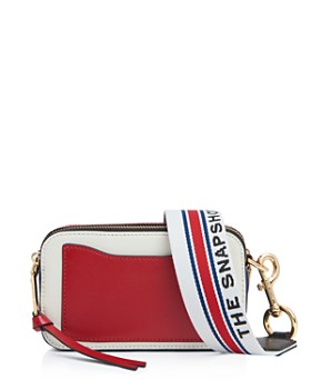 MARC JACOBS - The Snapshot Small Leather Crossbody