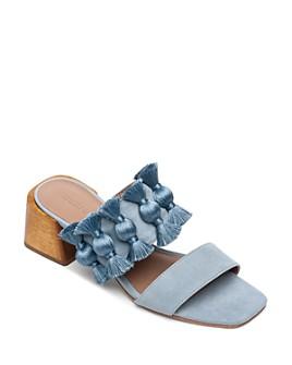 Bernardo - Women's Bella Tassel Block-Heel Sandals