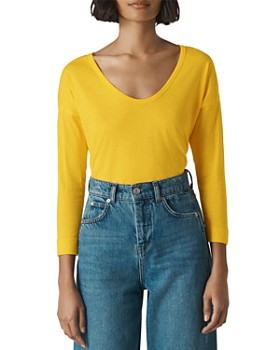 Whistles - Scoop-Neck Top