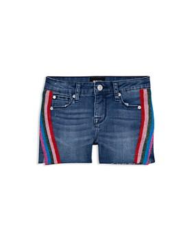 9b6996e52f5 Hudson - Girls  Martina Side-Stripe Denim Shorts - Big Kid ...