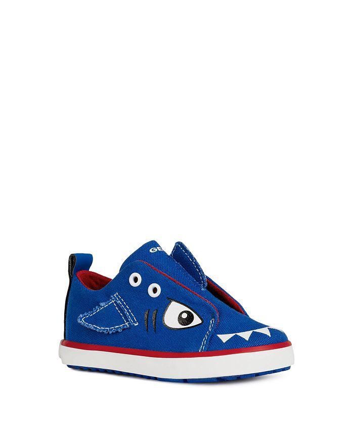Geox - Boys' B Kilwi Baby Shark Slip-On Sneakers - Toddler