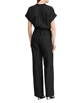 Ralph Lauren - Pinstriped Jumpsuit
