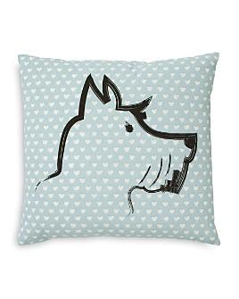 "ED Ellen Degeneres - Riverside Scottie Square Decorative Pillow, 18"" x 18"""
