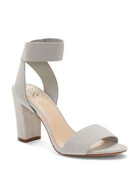 VINCE CAMUTO - Women's Citriana Suede High-Heel Sandals