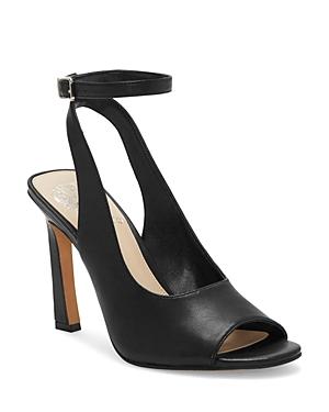 Vince Camuto Sandals WOMEN'S RETEEMA LEATHER HIGH-HEEL SANDALS