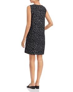 Eileen Fisher - Organic Cotton Dot-Print Dress