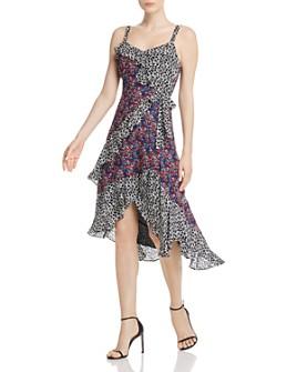 Parker - Kathy Mixed-Print Dress
