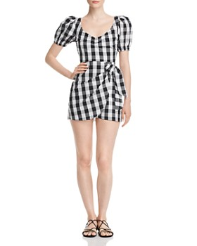 Nightwalker - Lola Plaid Mini Dress