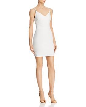 LIKELY - Brooklyn V-Neck Mini Dress