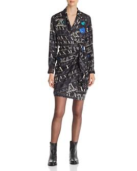 Max Mara - Zac Silk Wrap Dress