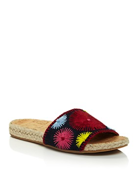 Jack Rogers - Women's Bettina Embroidered Slide Sandals
