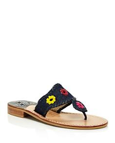 Jack Rogers - Women's Jacks Denim Thong Sandals