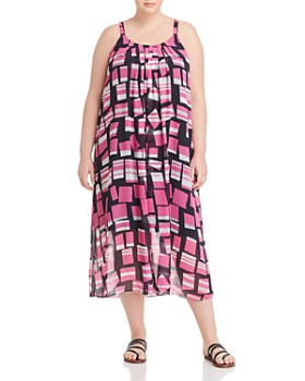 f2915e60a5db NIC and ZOE Plus - Block Party Printed Dress ...