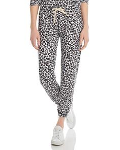 Vintage Havana - Leopard-Print Jogger Pants