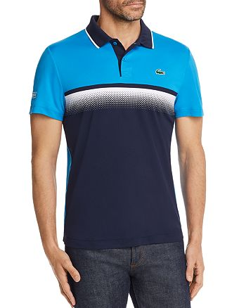 Lacoste - Ultra Dry Gradient-Print Polo Shirt