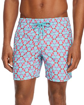 176c342fe9 Vilebrequin - Moorea Data Turtle-Print Swim Trunks ...
