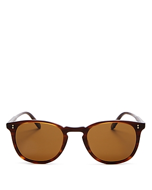 Garrett Leight Men's Kinney Square Sunglasses, 47 mm