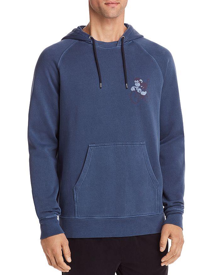 Paul Smith - Hooded Graphic Fleece Sweatshirt
