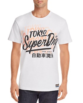 Superdry - Double-Print Logo Graphic Tee