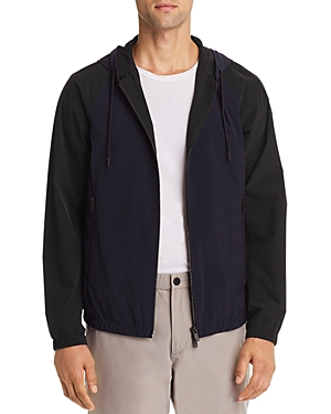 Theory Abels Color-Block Zip-Front Jacket