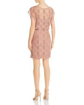Aidan Mattox - Embellished Blouson Dress
