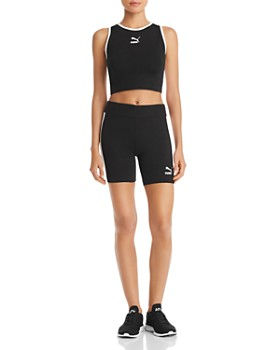 PUMA - Classics T7 Side-Stripe Bike Shorts