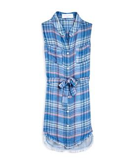 Bella Dahl - Girls' Camp Pocket Shirt Dress - Little Kid, Big Kid