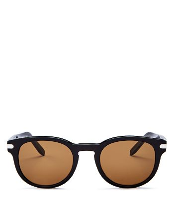 Salvatore Ferragamo - Men's Round Sunglasses, 50mm