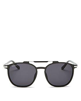 Salvatore Ferragamo - Men's Brow Bar Square Sunglasses, 54mm