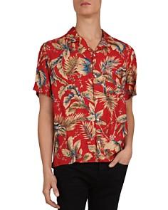 The Kooples - Palm Print Twill Regular Fit Shirt