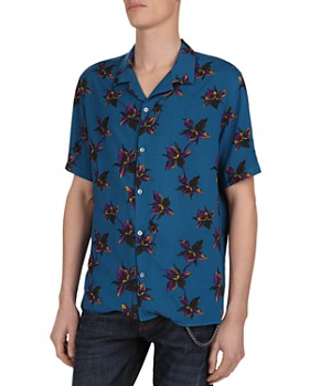 The Kooples - Orchid Print Regular Fit Shirt
