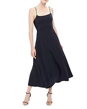 Theory Paneled Midi Dress
