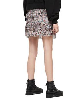 ALLSAINTS - Sanse Sketch Ruffled Skirt