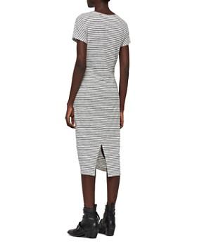 2a38f705c4 ... ALLSAINTS - Paloma Twist-Front Striped Dress