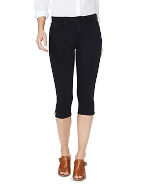 Nydj Skinny Capri Jeans in Black