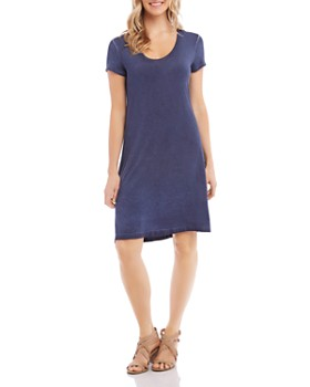 Karen Kane - Olivia Vintage-Wash T-Shirt Dress