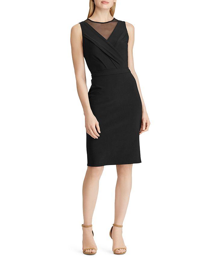Ralph Lauren - Mesh-Inset Jersey Dress
