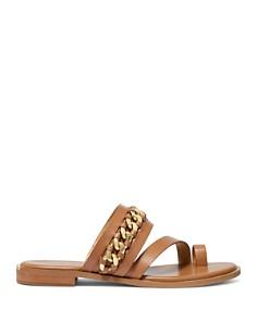 MICHAEL Michael Kors - Women's Bergen Leather Flat Sandals