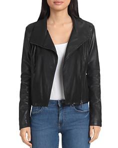 Bagatelle - Faux Leather Moto Jacket