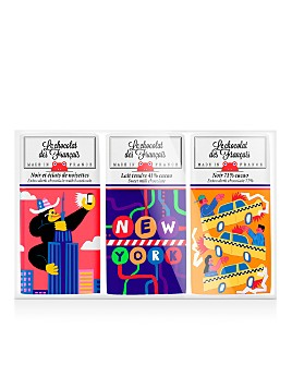 Le Chocolat des Francais - NYC Mini Chocolate Bars, Set of Three