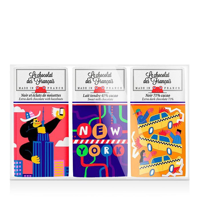 Le Chocolat des Francais - NYC Mini Chocolate Bars, Set of Three