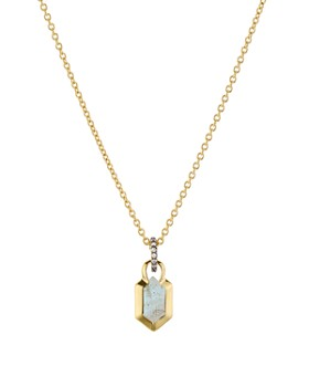 """Nadri - Venice Pendant Necklace in 18K Gold-Plated Sterling Silver, 16"""""""
