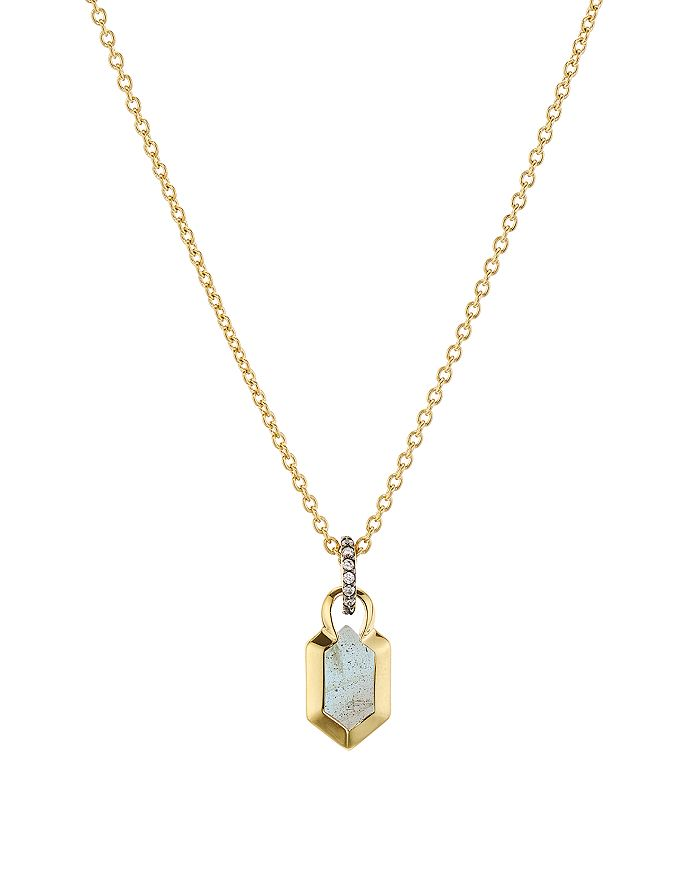 Nadri - Venice Pendant Necklace in 18K Gold-Plated Sterling Silver, 16""