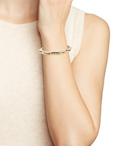 kate spade new york - Scalloped Thin Bangle Bracelets, Set of 3